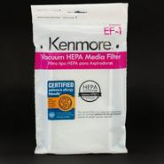 Kenmore HEPA Vacuum Media Filter, EF-1 at Kenmore.com