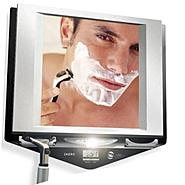 Zadro Z'Fogless fog-free LED lighted shower mirror w/LCD clock at Kmart.com