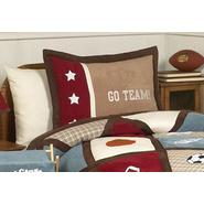 Sweet Jojo Designs All Star Sports Collection Standard Pillow Sham at Kmart.com
