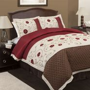 Lush Decor Royal Embrace Red 4-pc Comforter Set Queen at Sears.com