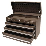 Homak 20in 3 Drawer Friction Toolbox - Brown at Sears.com