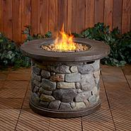 Garden Oasis LP Gas Fire Table at Kmart.com