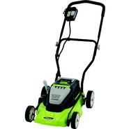 "Earthwise 14"" Cordless Electric Lawnmower at Sears.com"