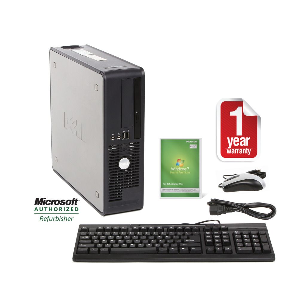 Optiplex 740 Refurbished Desktop PC Dual Core