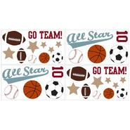 Sweet Jojo Designs All Star Sports Collection Wall Decal Stickers at Kmart.com