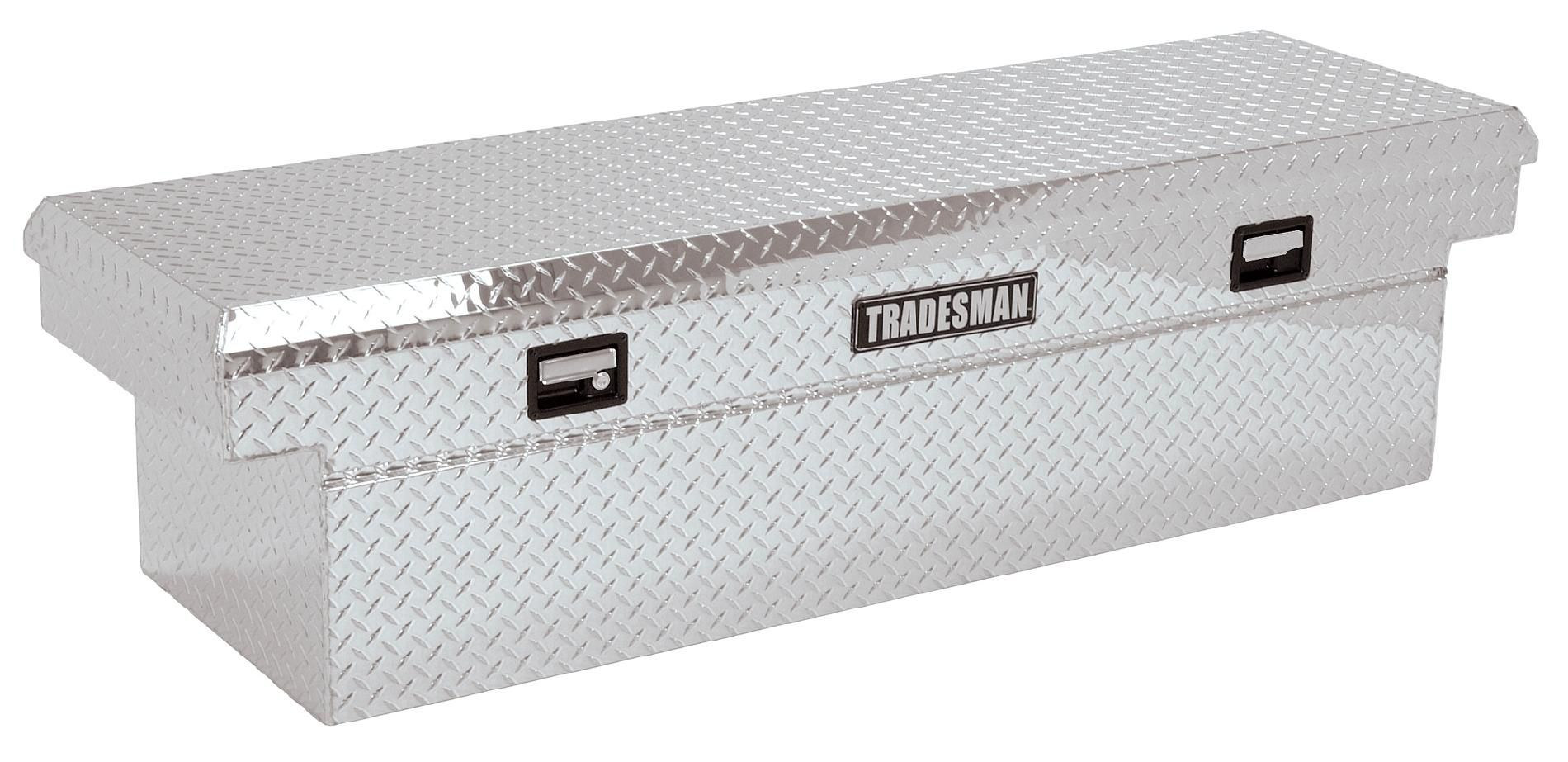 TALF2072D 72-Inch Aluminum Deep Well Full Lid Cross Bed Truck Tool Box,
