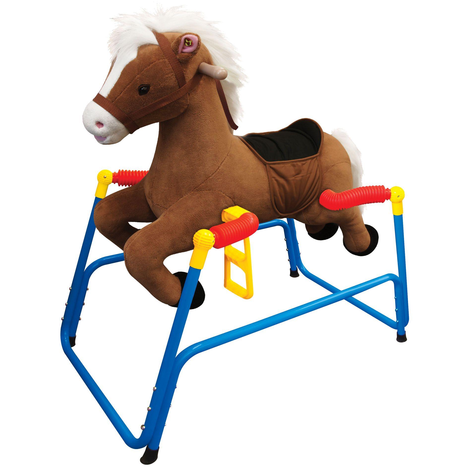 Kiddieland Toys Ltd Plush Bounce N Ride Spring Pony