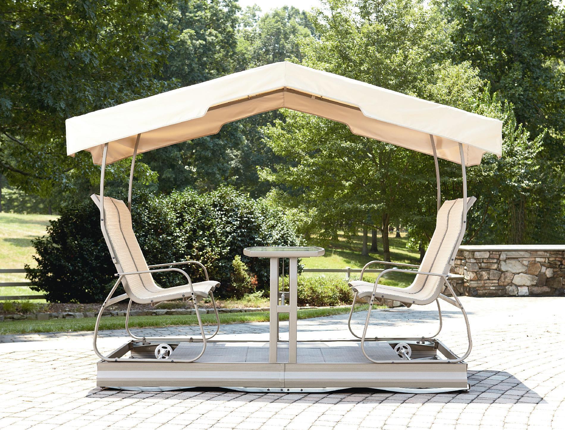garden oasis grandview 4 seat glider outdoor living