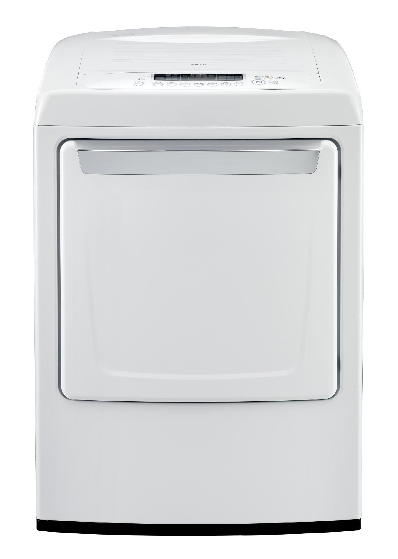 7.3 cu. ft. Electric Dryer - White