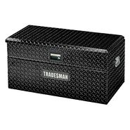 Tradesman TAWB36BK 36-Inch Aluminum Flush Mount Single Lid Truck Tool Box, Diamond Plated, Black at Kmart.com