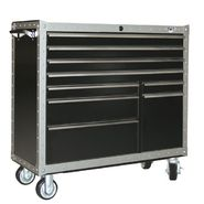 "Viper Tool Storage ARMOR 41"" 9-Drawer Rolling Cabinet at Sears.com"