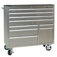 "Viper Tool Storage 41"" 9 Drawer 304 Stainless Steel Rolling Cabinet at Sears.com"