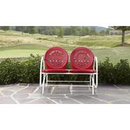 Garden Oasis Retro Steel Clam Glider - Red at Kmart.com