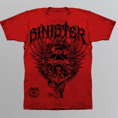Sinister Young Men's Graphic T-Shirt - Anchor