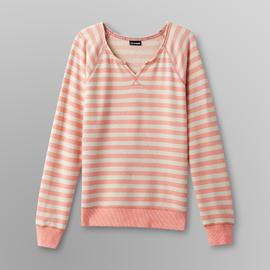 Joe Boxer Women's Sweatshirt - Striped at Kmart.com