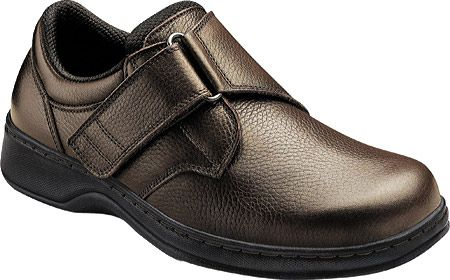 Orthofeet Men's 520 - Brown Leather