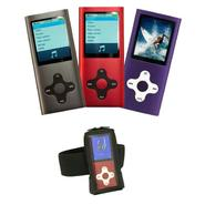 Mach Speed Eclipse MP3 Player Bundle with Armband Cas...