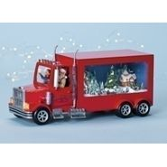 Amusements&#153 Musicals Retro Musical LED Red 10 Wheeler Truck Holiday Figure at Kmart.com