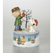 "Peanuts&#174 8"" Musical Charlie Brown/Snoopy Decorating Christmas Tree at Sears.com"