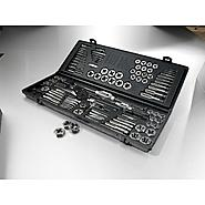 Craftsman 107 pc. Tap and Die Set, Carbon Steel, Metric/Standard at Craftsman.com