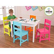Highlighter Table & 4 Chair Set at Kmart.com