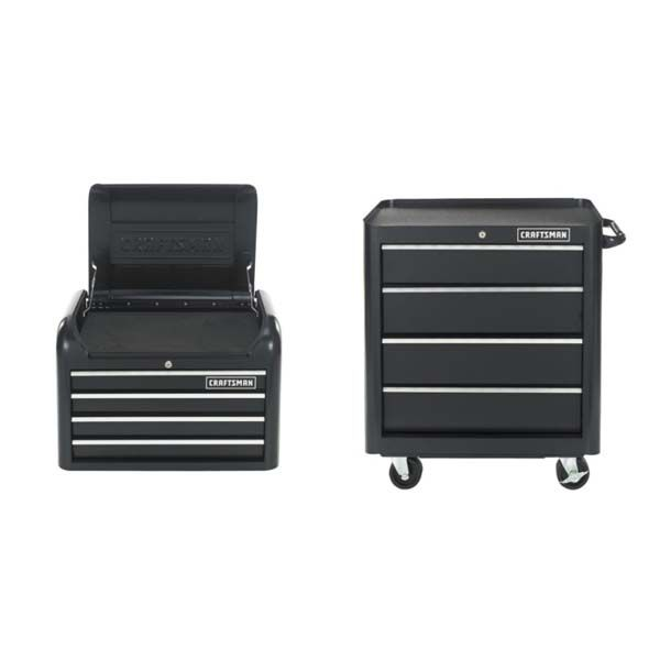 Craftsman-8-Drawer 28-Inch Contour Tool Storage Combo
