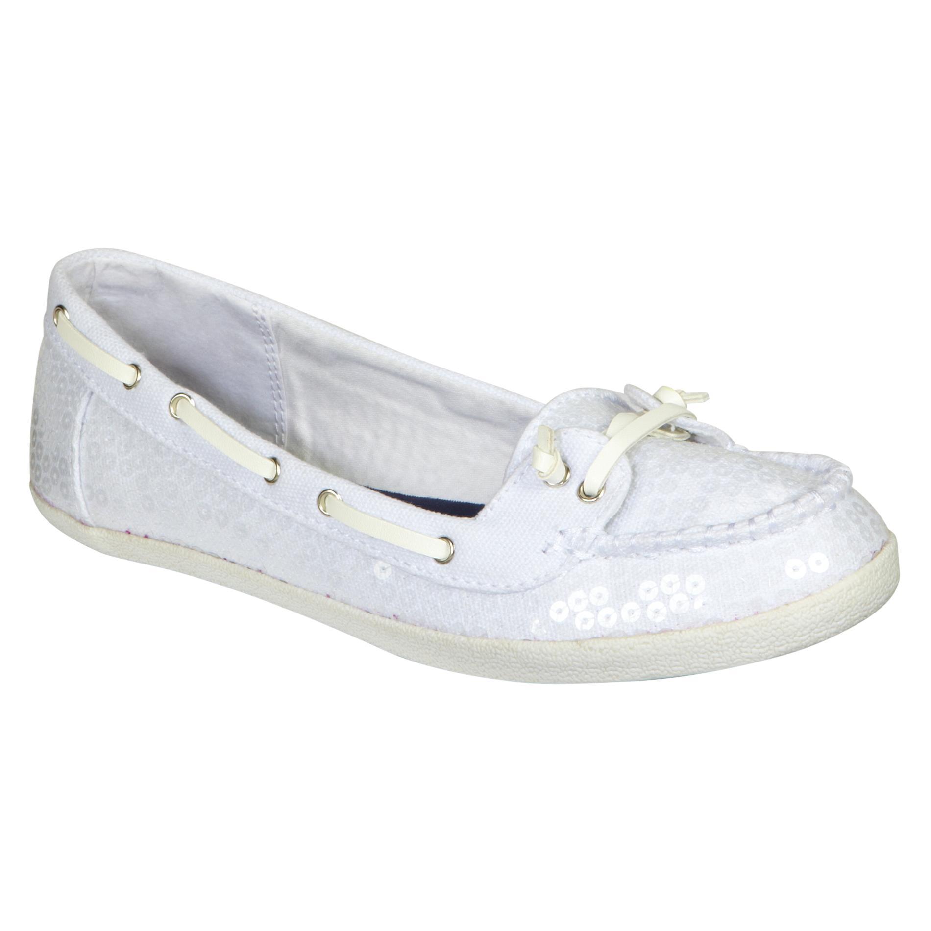 Bongo Women s Casual Boat Shoe Port - White  1808b4be78
