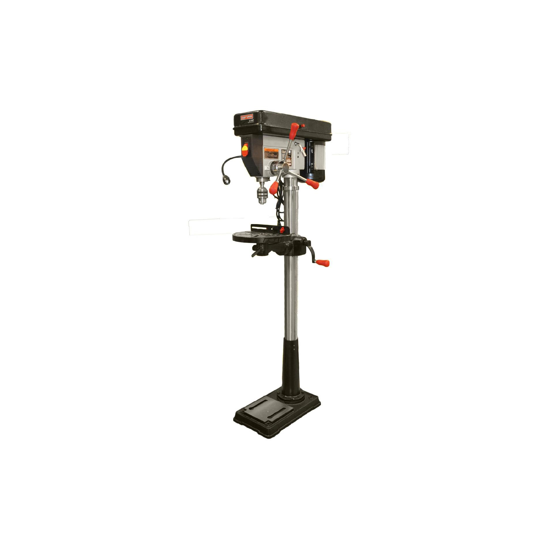 "15"" Drill Press With Laser And LED"