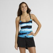 Tropical Escape Women's Tankini Top - Hawaiian Ocean at Kmart.com