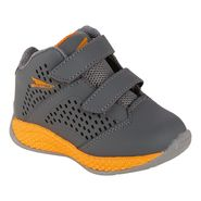 CATAPULT Toddler Boy's Bounce Athletic Shoe - Grey/Orange - Every Day Great Price at Kmart.com