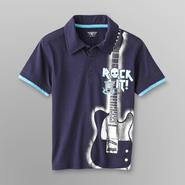Toughskins Boy's Polo Shirt - Rock It! at Sears.com