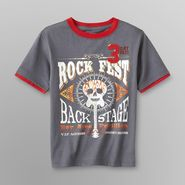 Toughskins Boy's T-Shirt - Rock Fest Graphic at Sears.com