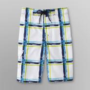 Joe Boxer Boy's Swim Trunks - Plaid at Sears.com