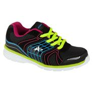 Athletech Girl's Ath L-Willow2 Athletic Shoe - Black - Every Day Great Price at Kmart.com