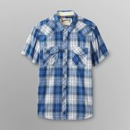 Roebuck & Co. Young Men's Plaid Shirt - Western Style at Sears.com