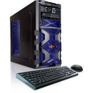 CybertronPC 4.2GHz 8GB DDR3 Assassin AMD FX 4170 Quad Core Gaming PC Blue w/2x Radeon HD6570 in CrossFire Windows 8 64-bit at Sears.com
