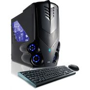 CybertronPC 3.3GHz 16GB DDR3 Syclone II AMD FX 6100 Hexa Core Gaming PC Black w/2x Radeon HD7750 in CrossFire Windows 8 64-bit at Sears.com