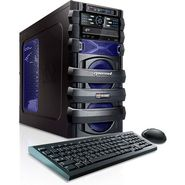 CybertronPC 3.6GHz 8GB DDR3 5150 Escape AMD FX 4100 Quad Core Gaming PC Blue w/Radeon HD6670 Windows 8 64-bit at Sears.com