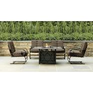 Grand Resort Smoky Hill 5pc Gas Firepit Chat Set at Kmart.com