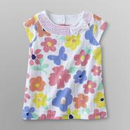 Toughskins Infant & Toddler Girl's Sequin Tunic - Floral at Sears.com