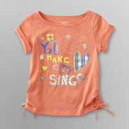 Toughskins Infant & Toddler Girl's Ruched Top - Bird at Sears.com