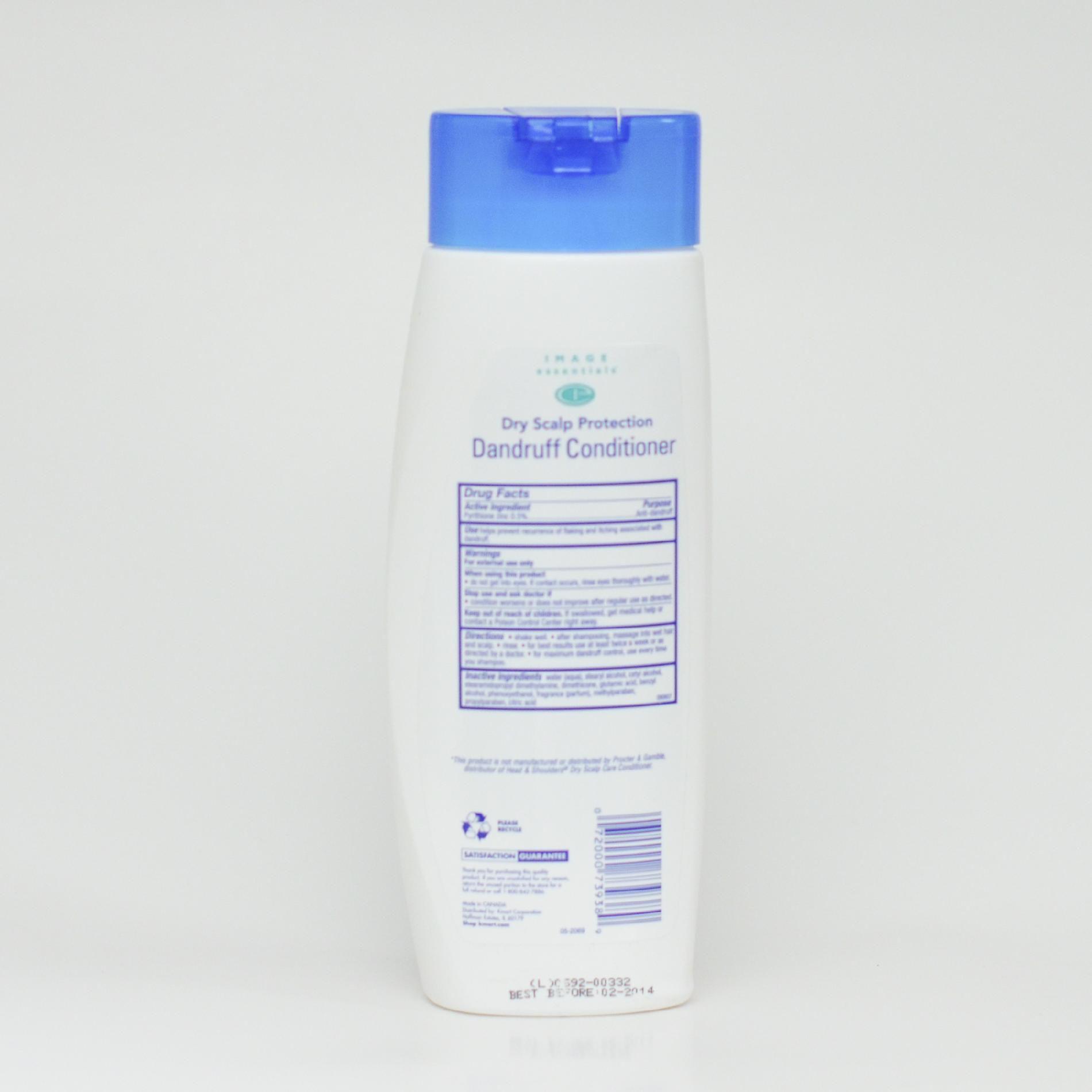 Image Essentials Dandruff Conditioner, Dry Scalp Protection, 13.5 fl oz (400 ml)
