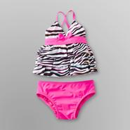 Joe Boxer Infant & Toddler Girl's Zebra Tankini at Sears.com
