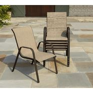 Garden Oasis Benton Neutral Sling Stack Chair at Sears.com