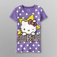 Hello Kitty Girl's Graphic T-Shirt - Awesome at Sears.com