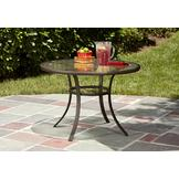 Garden Oasis Benton Round Dining Table - Seats 4 at mygofer.com