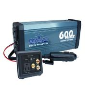 Bravo-View BRAVO VIEW INV600 POWER INVERTER 600W AUTO SHUTOFF 2X 115VOLT at Sears.com
