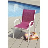 Garden Oasis Kiddie Stack Chair - Pink at mygofer.com