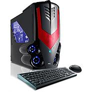 CybertronPC 3.3GHz 16GB DDR3 Syclone II AMD FX 6100 Hexa Core Gaming PC Red w/2x Radeon HD7750 in CrossFire Windows 8 64-bit at Sears.com