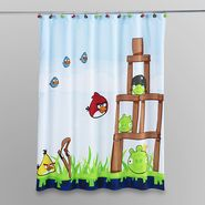 Angry Birds by Rovio Entertainment Kids Bath Shower Curtain at Sears.com